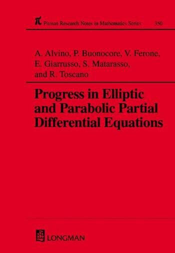 Progress in Elliptic and Parabolic Partial Differential Equations book cover