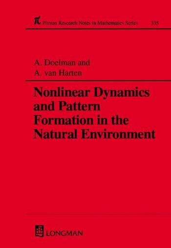Nonlinear Dynamics and Pattern Formation in the Natural Environment book cover