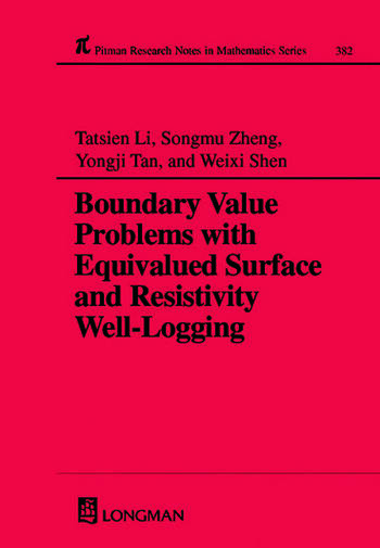 Boundary Value Problems with Equivalued Surface and Resistivity Well-Logging book cover