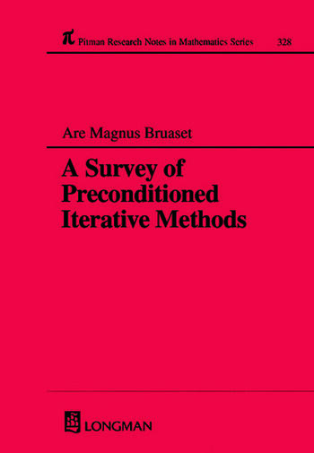 A Survey of Preconditioned Iterative Methods book cover