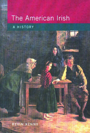 The American Irish A History book cover