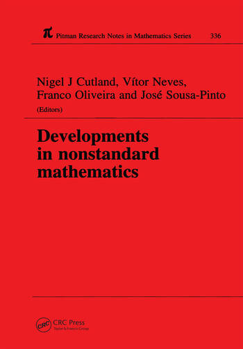 Developments in Nonstandard Mathematics book cover