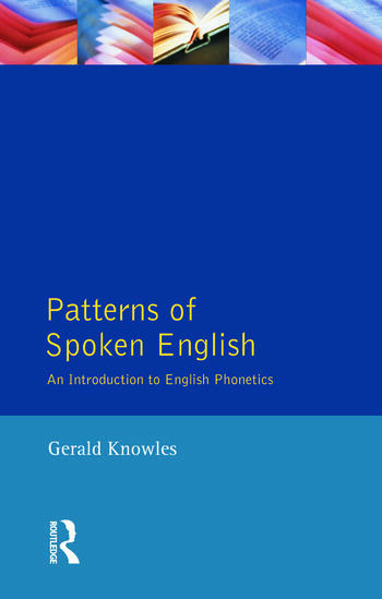 Patterns of Spoken English An Introduction to English Phonetics book cover