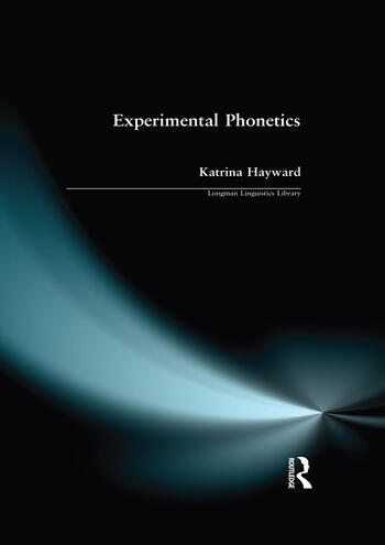 Experimental Phonetics An Introduction book cover