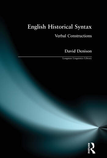 English Historical Syntax book cover