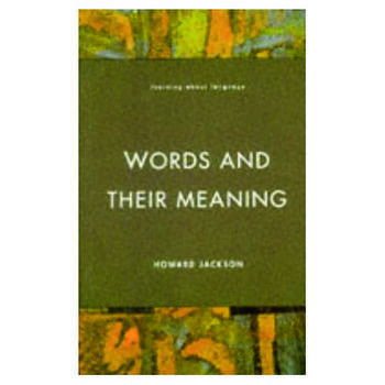 Words and Their Meaning book cover