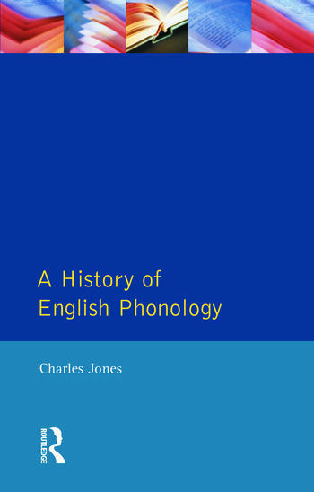 A History of English Phonology book cover