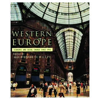 Western Europe Economic and Social Change since 1945 book cover