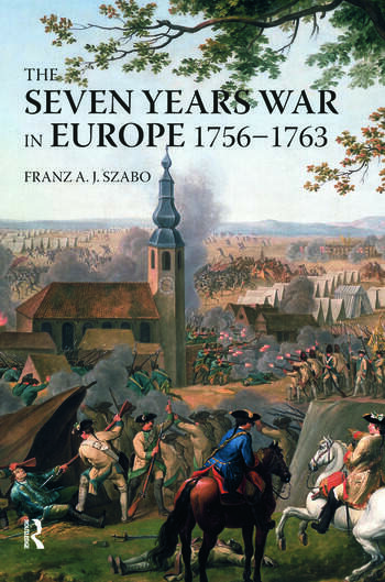 The Seven Years War in Europe 1756-1763 book cover