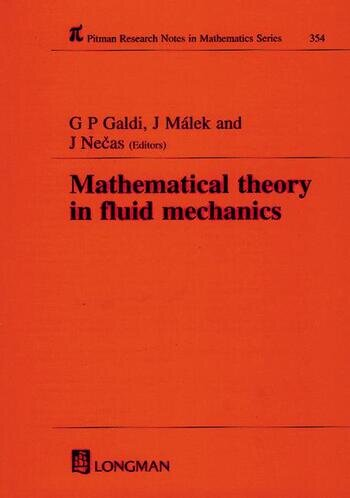Mathematical Theory in Fluid Mechanics book cover