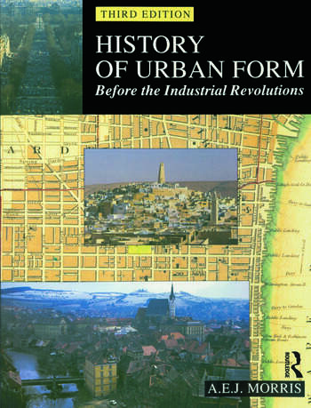 History of Urban Form Before the Industrial Revolution book cover