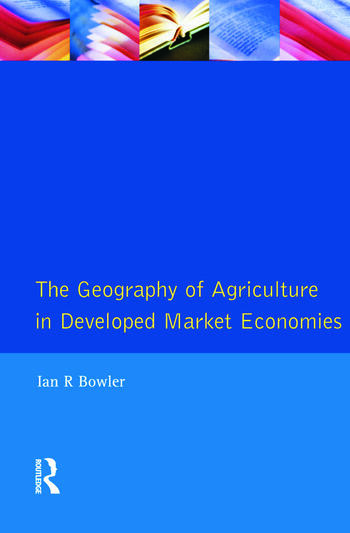 Geography of Agriculture in Developed Market Economies, The book cover