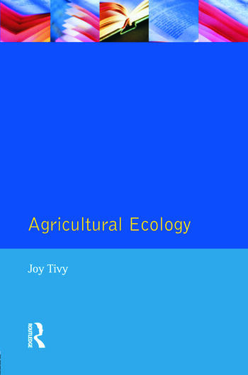 Agricultural Ecology book cover