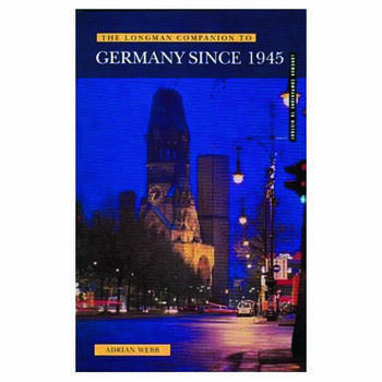 Longman Companion to Germany since 1945 book cover