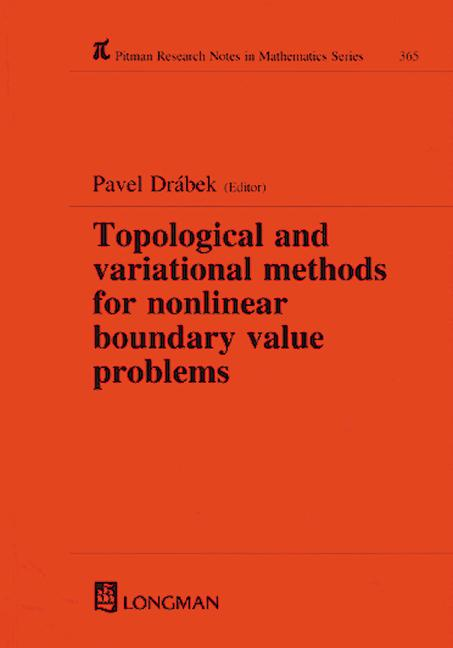 Topological and Variational Methods for Nonlinear Boundary Value Problems book cover