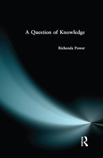 A Question of Knowledge book cover