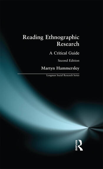 Reading Ethnographic Research book cover