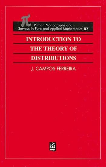 Introduction to the Theory of Distributions book cover