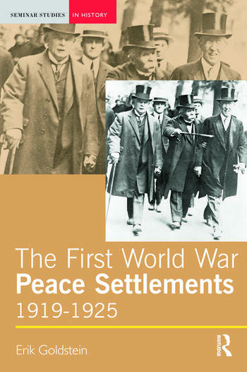 The First World War Peace Settlements, 1919-1925 book cover