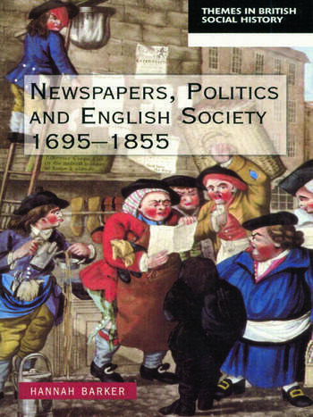 Newspapers and English Society 1695-1855 book cover