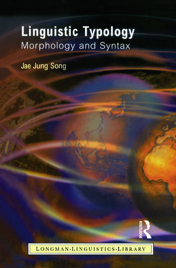 Linguistic Typology Morphology and Syntax book cover