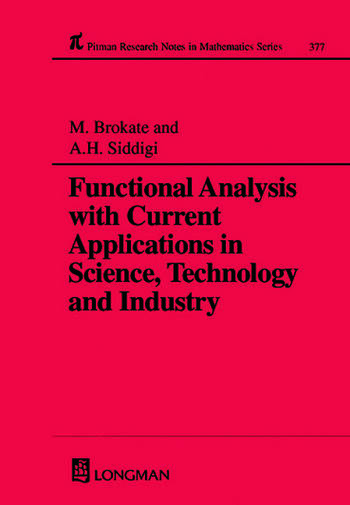 Functional Analysis with Current Applications in Science, Technology and Industry book cover