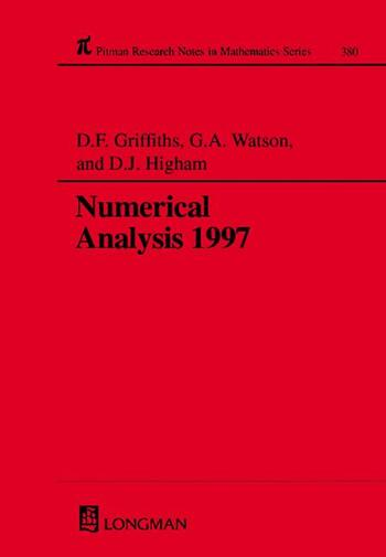 Numerical Analysis 1997 book cover