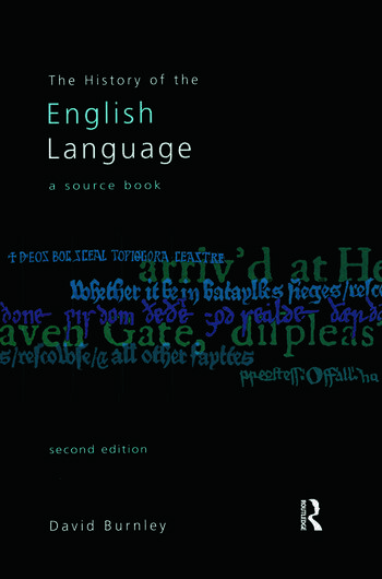 The History of the English Language A Sourcebook book cover