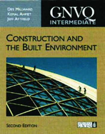 Intermediate GNVQ Construction and the Built Environment, 2nd ed book cover