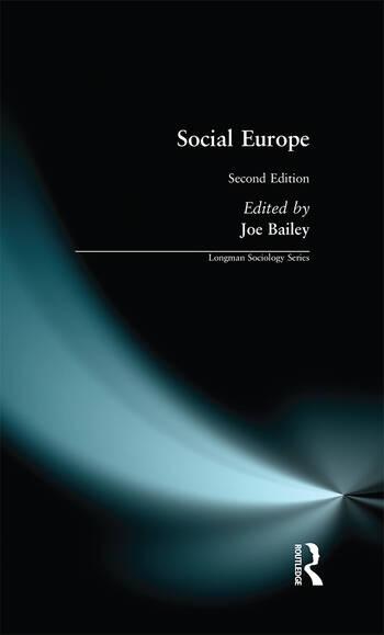 Social Europe book cover