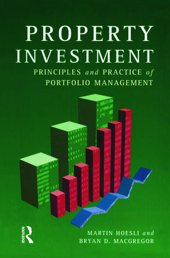 Property Investment Principles and Practice of Portfolio Management book cover