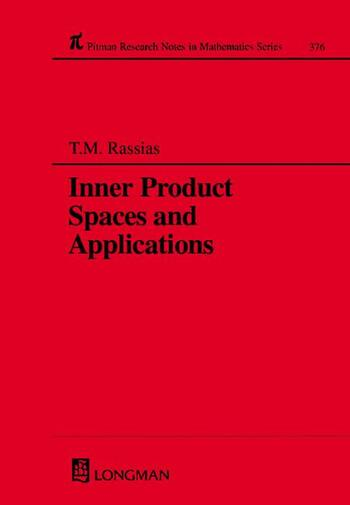 Inner Product Spaces and Applications book cover