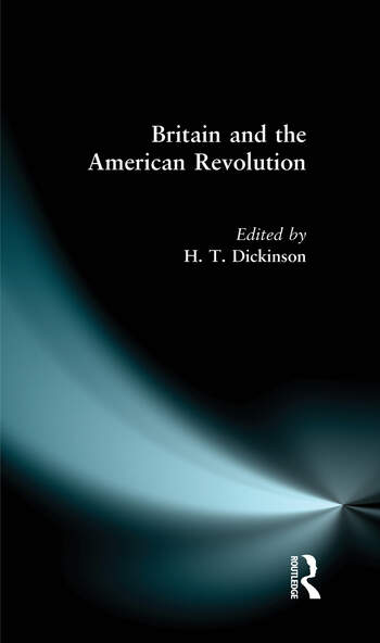 Britain and the American Revolution book cover
