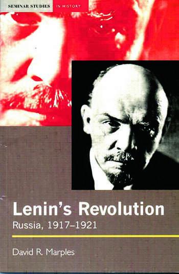 Lenin's Revolution Russia, 1917-1921 book cover
