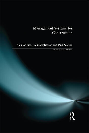Management Systems for Construction book cover