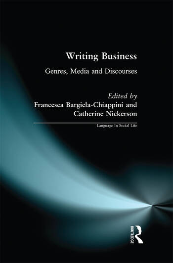 Writing Business Genres, Media and Discourses book cover