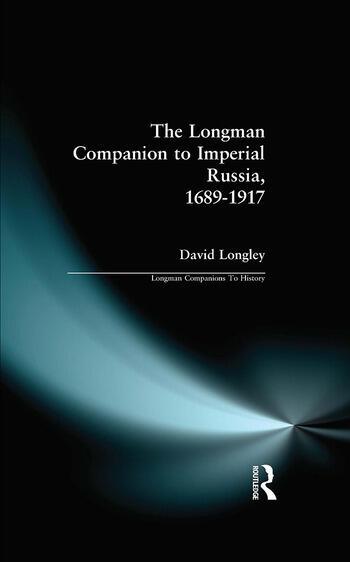 Longman Companion to Imperial Russia, 1689-1917 book cover
