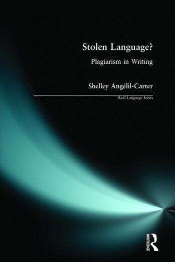 Stolen Language? Plagiarism in Writing book cover