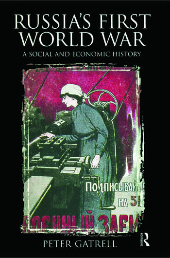Russia's First World War A Social and Economic History book cover