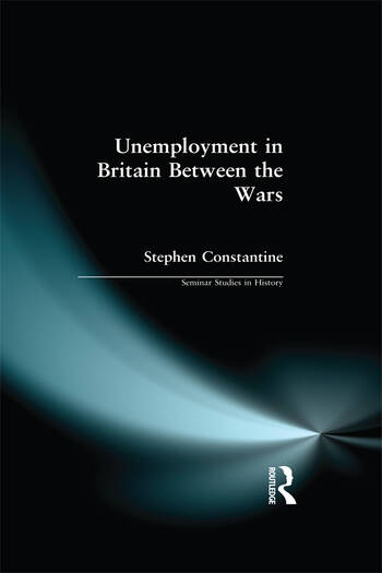Unemployment in Britain Between the Wars book cover
