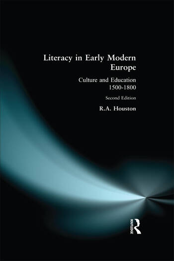 Literacy in Early Modern Europe book cover