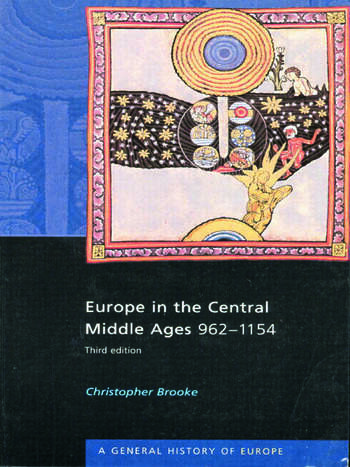 Europe in the Central Middle Ages 962-1154 book cover
