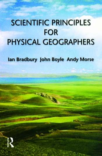 Scientific Principles for Physical Geographers book cover