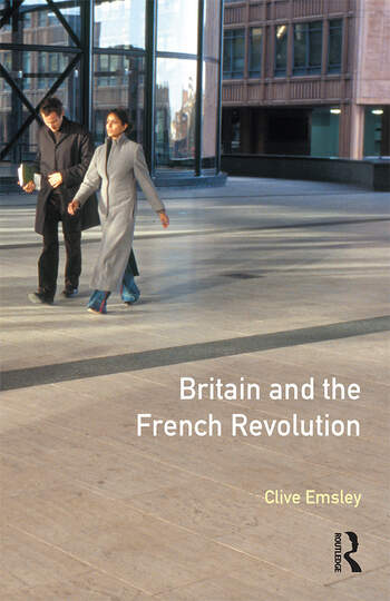 Britain and the French Revolution book cover