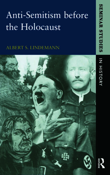 Anti-Semitism before the Holocaust book cover