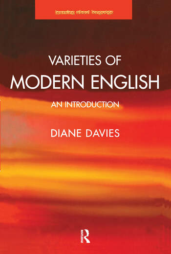 Varieties of Modern English An Introduction book cover