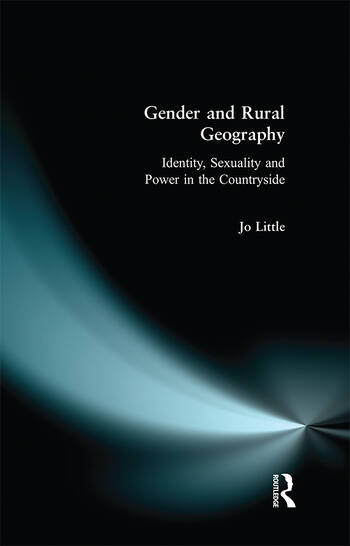 Gender and Rural Geography book cover