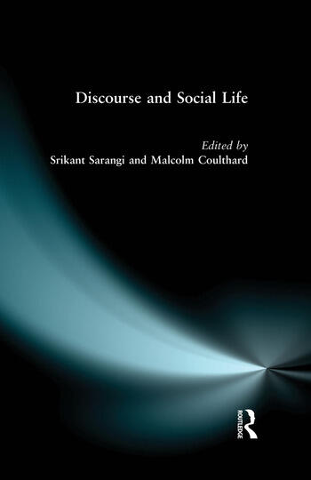 Discourse and Social Life book cover