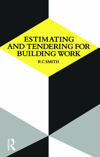 Estimating and Tendering for Building Work book cover