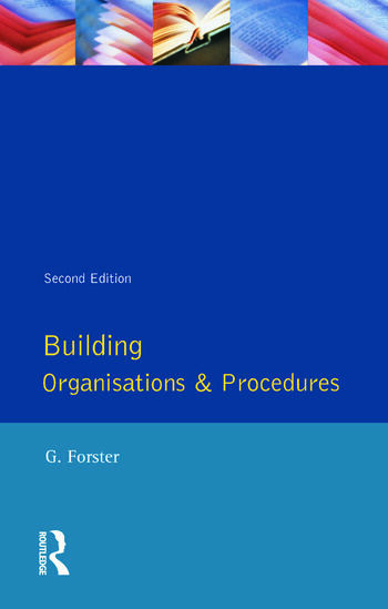Building Organisation and Procedures book cover